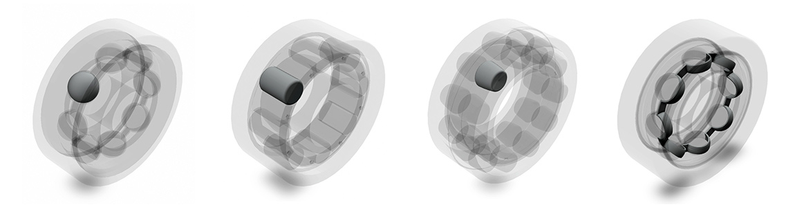 3D models bearings